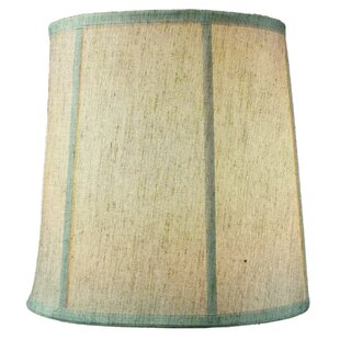 Price Check Textured 10 Linen Drum Lamp Shade By Highland Dunes