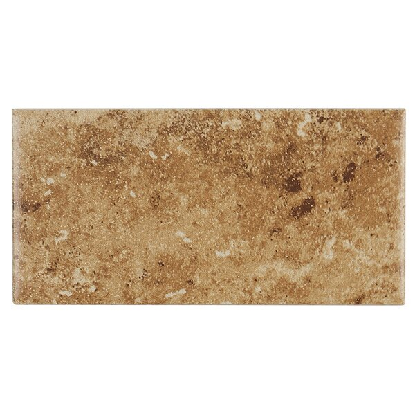 Cromwell 3 x 6 Ceramic Subway Tile in Amber by Itona Tile