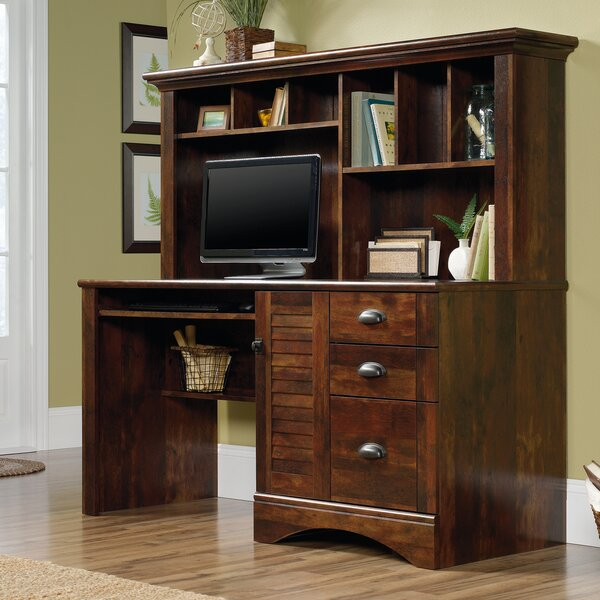 Stalter Computer Desk with Hutch by Beachcrest Hom