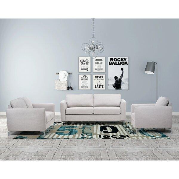 Scannell Sleeper 3 Piece Living Room Set by Orren Ellis