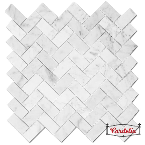1 x 2 Straight Edge Natural Stone Mosaic Sheet Tile