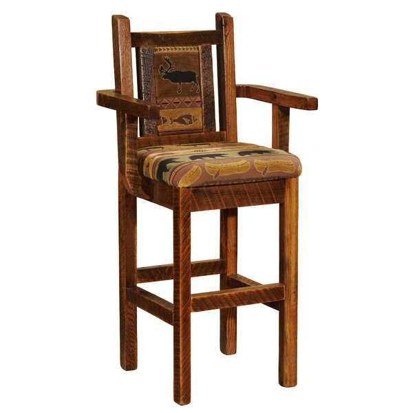 Barnwood 30 Bar Stool by Fireside Lodge
