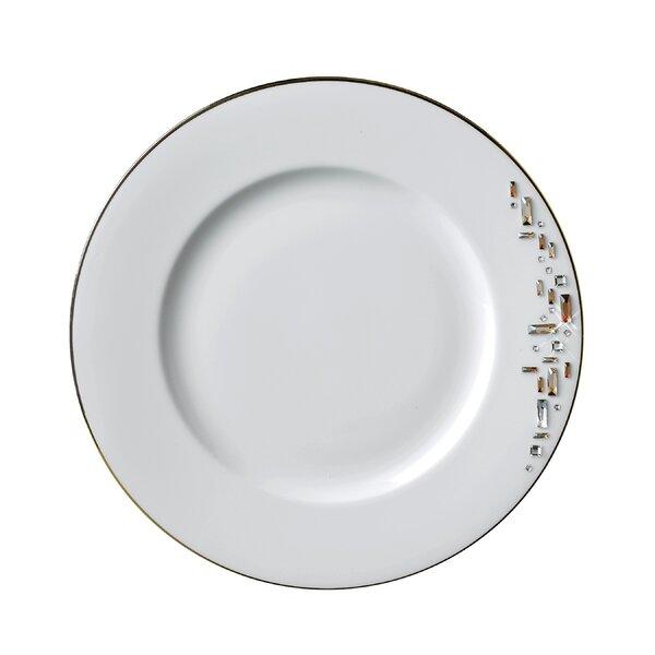 Diana Gold 10.5 Bone China Dinner Plate