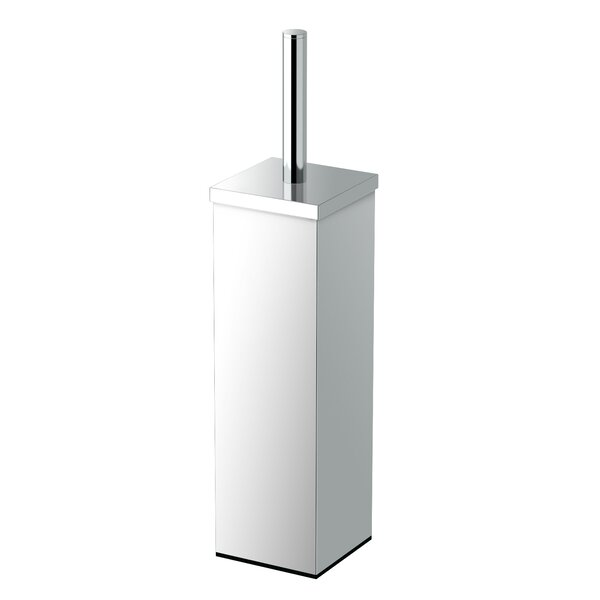 Elegant Square Toilet Brush and Holder by Gatco