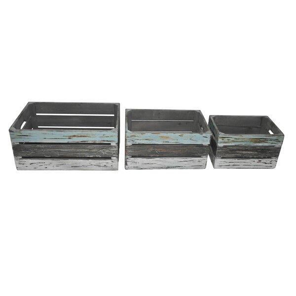 3-Piece Wood Planter Box Set by Cheungs