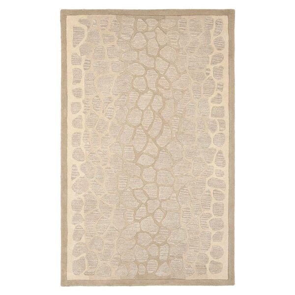 Martha Stewart B Wheat F Sharkey Gray Area Rug by Martha Stewart Rugs