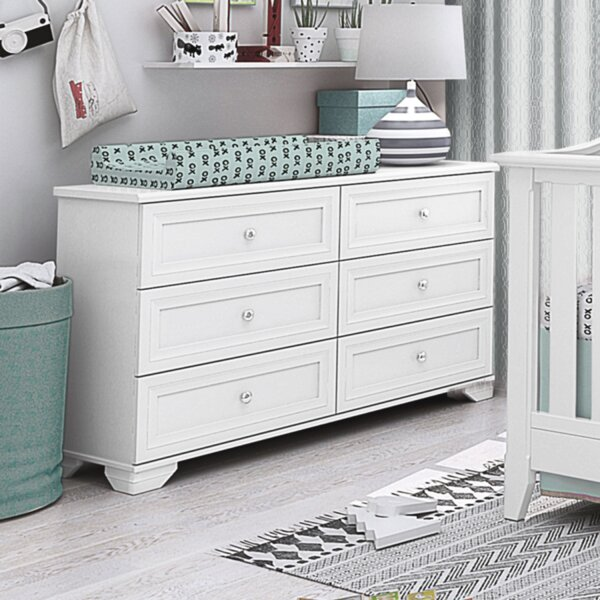 Essex 6 Drawer Double Dresser by Harriet Bee