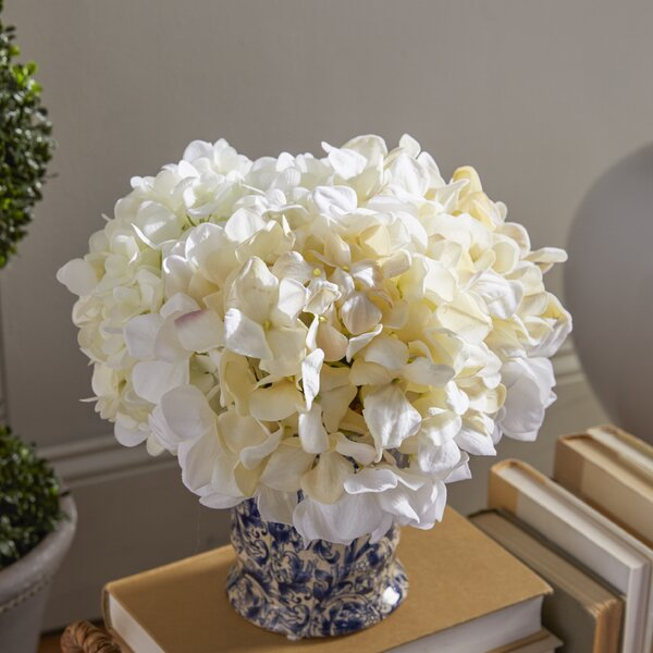 Hydrangea Chinoiserie Vase by Darby Home Co
