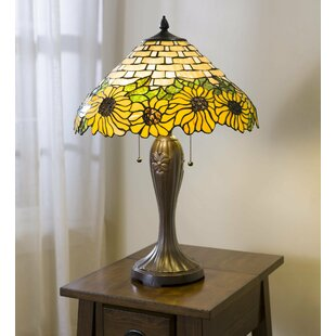 Reviews Sunflower Tiffany 26 Table Lamp By Plow & Hearth