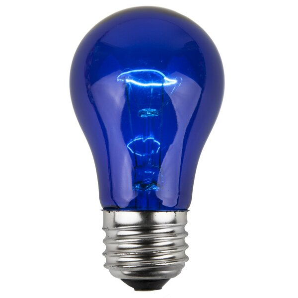 15W Blue 130-Volt Light Bulb (Pack of 25) by Wintergreen Lighting