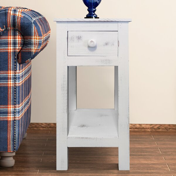 Felicia End Table With Storage By Rosecliff Heights