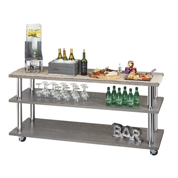 Ashwood U-Build 4ft Bar Cart by Cal-Mil Cal-Mil