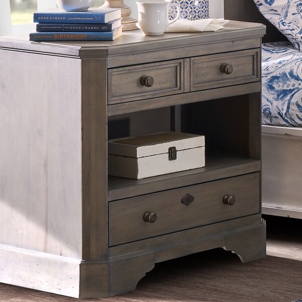 Donavan 2 Drawer Nightstand by One Allium Way