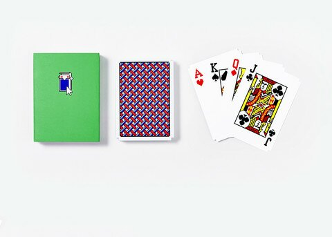 Solitaire Playing Card (Set of 3) by Areaware