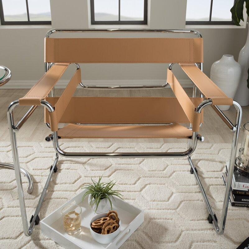 somnus bonded leather armchair