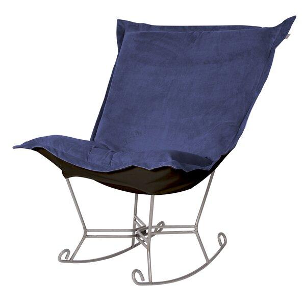 Azaria Scroll Rocking Chair by Red Barrel Studio