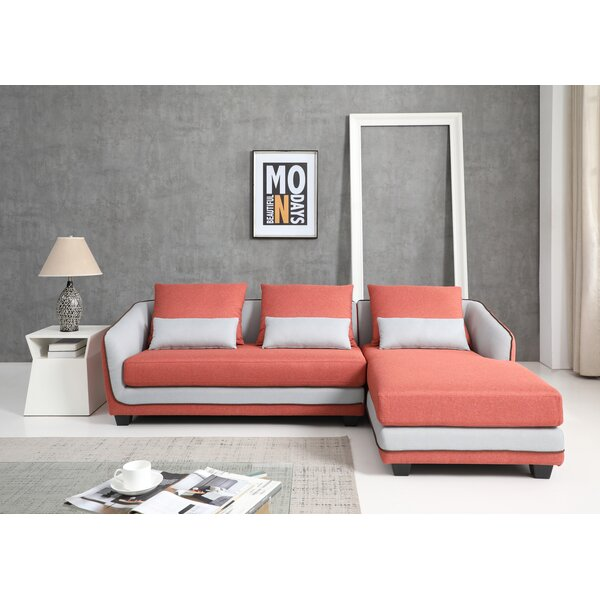 Pueblo Right Hand Facing Modular Sectional by Orren Ellis