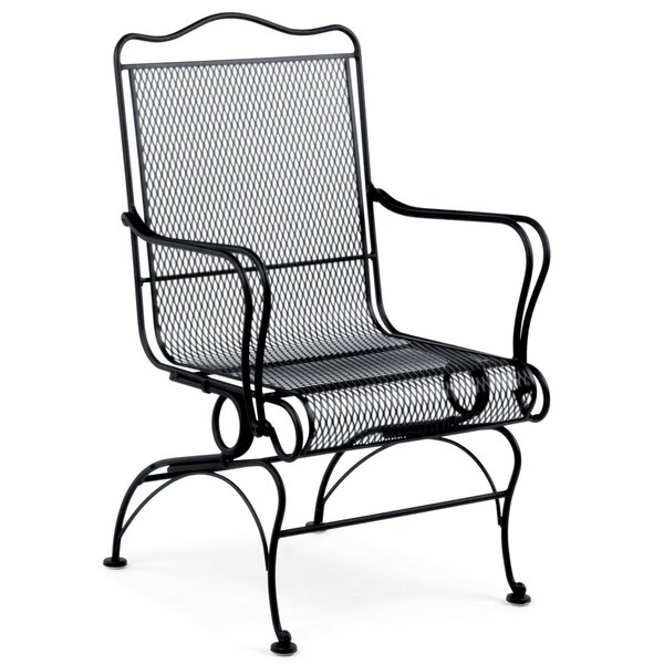 Tucson High Back Coil Spring Patio Chair by Woodard