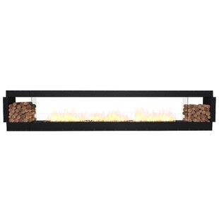 FLEX158 Double Sided Wall Mounted Bio-Ethanol Fireplace Insert By EcoSmart Fire