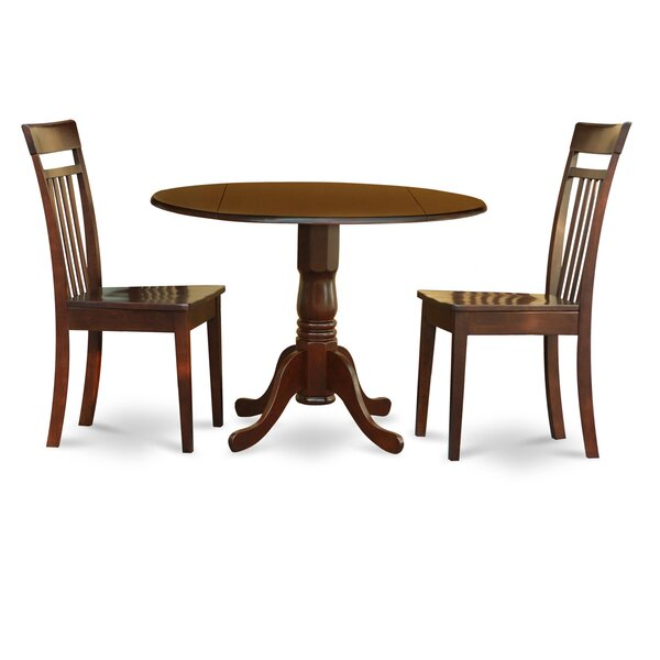 Spruill Drop Leaf Solid Wood Dining Set by August Grove August Grove