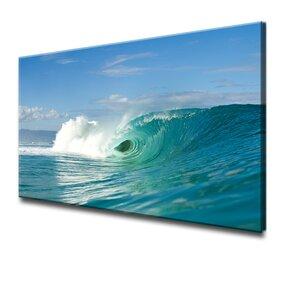 'Wave Break' by Nicola Lugo Photographic Print by Ready2hangart