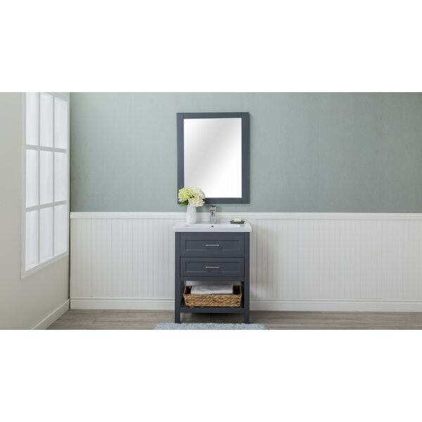 Caudillo 30 Single Bathroom Vanity Set by Rosecliff Heights