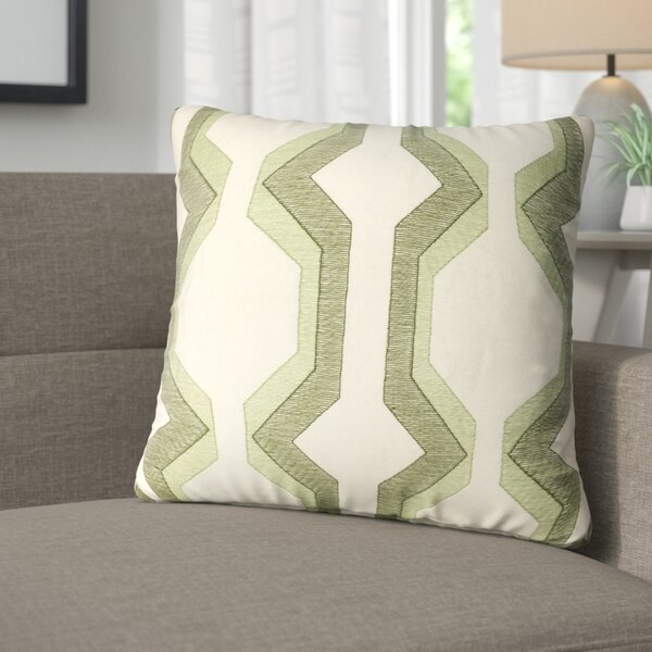 Bennie Cotton Throw Pillow by Corrigan Studio