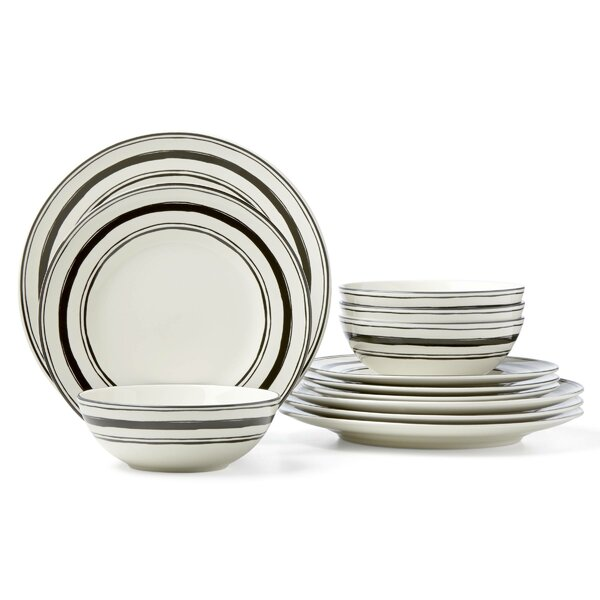 Around the Table 12 Piece Dinnerware Set, Service for 4 by Lenox