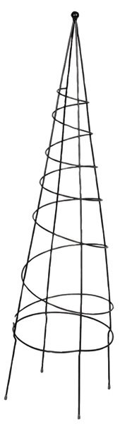 Spiral Steel Obelisk Trellis (Set of 10) by World Source Partners
