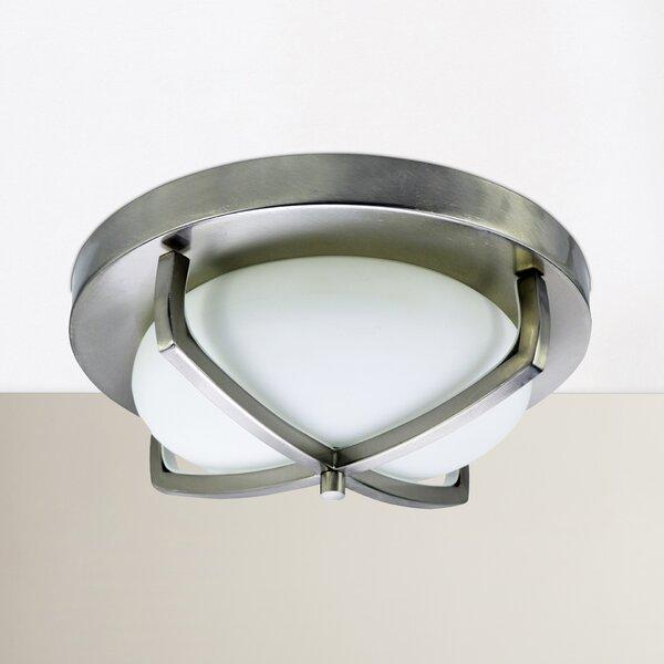 Camille 2-Light Flush Mount by Zipcode Design