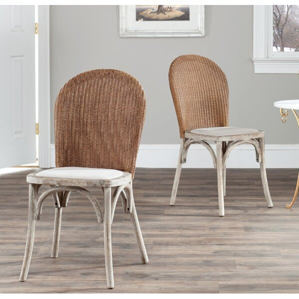 Simonton Upholstered Dining Chair (Set of 2) by Bay Isle Home