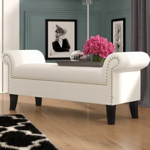 Comparison Lindon Upholstered Bench ByHouse of Hampton