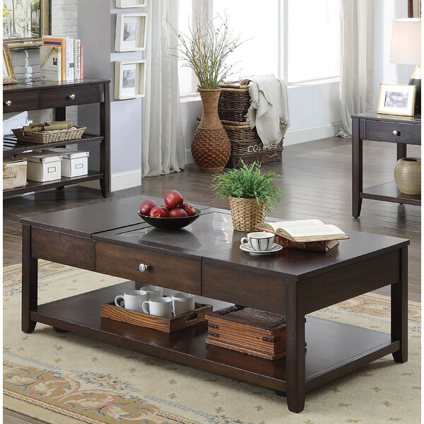 Candleick Lift-Top Coffee Table by Latitude Run