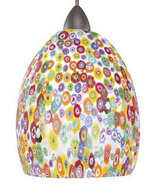 European Fiore LEDme 1-Light Cone Pendant by WAC Lighting