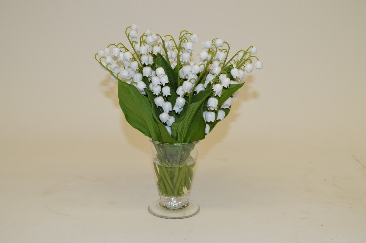 The french bee white lily of the valley in parfait vase reviews white lily of the valley in parfait vase izmirmasajfo Images