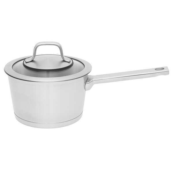 Manhattan Covered 1.8 qt. Stainless Steel Sauce Pan with Lid by BergHOFF International