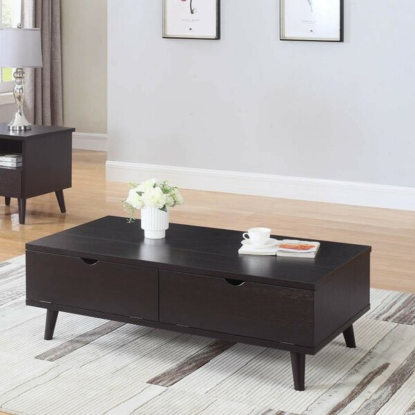 Bueno Modern Lift Top Wooden Coffee Table with Storage by George Oliver George Oliver