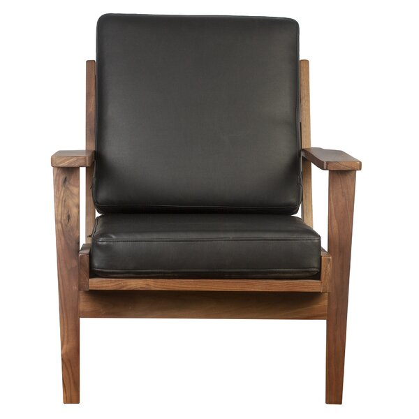 Deaver Solid Wood Armchair by Foundry Select