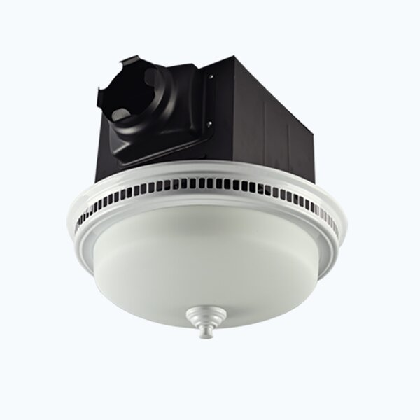 110 CFM Bathroom Fan with Light by Lift Bridge Kitchen & Bath