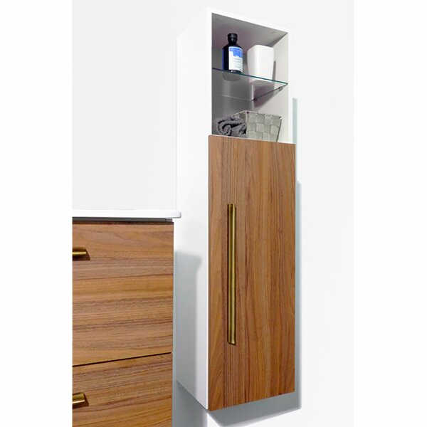 Irizarry 12 W x 45 H Wall Mounted Cabinet by Orren Ellis