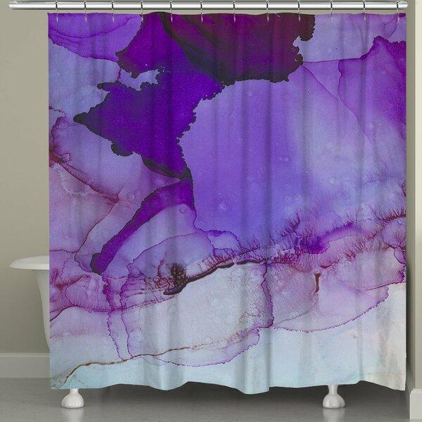 Gresham Palace Luminescent Jewel Tones Shower Curtain by Ivy Bronx