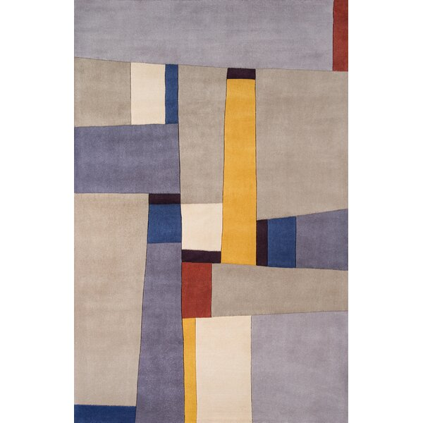 Sunny Springs Hand-Tufted Gray Area Rug by Langley Street