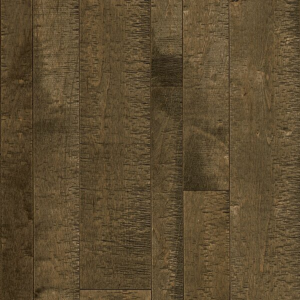 Random Width Solid Maple Hardwood Flooring in Lumberjack by Armstrong Flooring