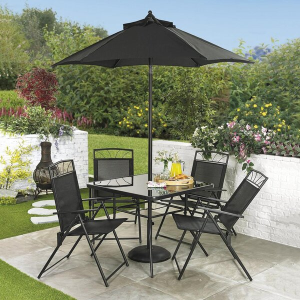 Kroll 6 Piece Dining Set by Winston Porter