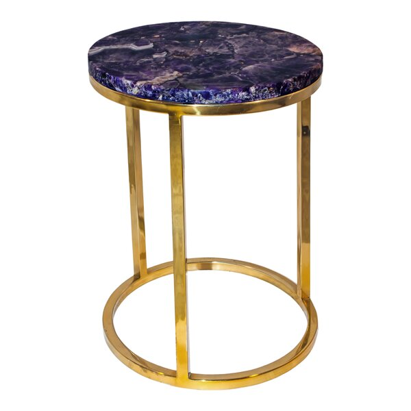 Barwick End Table by Everly Quinn Everly Quinn