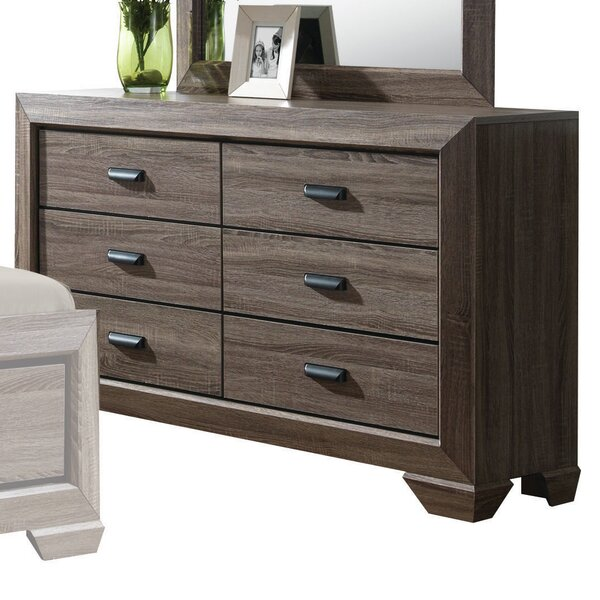 Weldy 6 Drawer Double Dresser by Brayden Studio