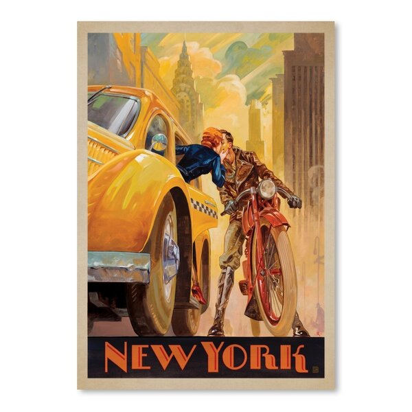 New York Minute Vintage Advertisement by East Urban Home