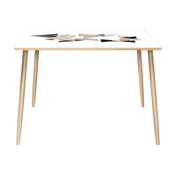 Waddington Solid Wood Dining Table by Bungalow Rose