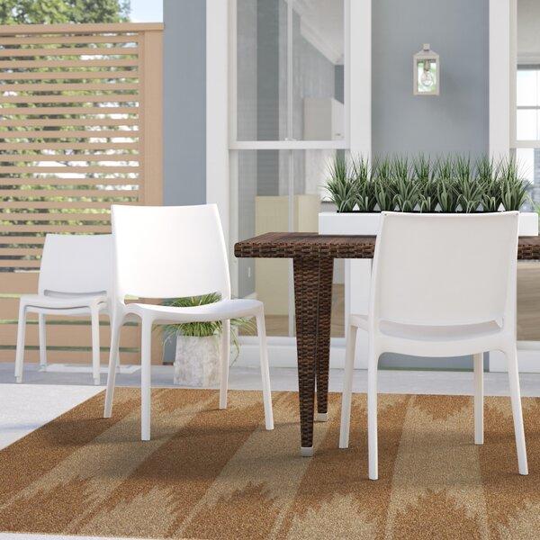 Loggins Stacking Patio Dining Chair (Set Of 2) By Brayden Studio by Brayden Studio Cool