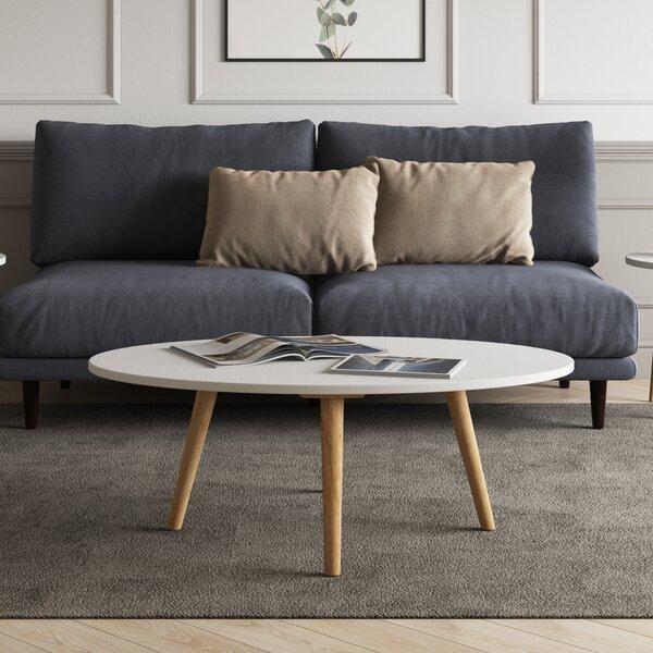 Trikomo Solid Wood Coffee Table By Ebern Designs
